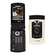 samsung side flip phones. samsung sch-u740 alias gold verizon dual hinge keypad flip vcast cell phone -c side phones y