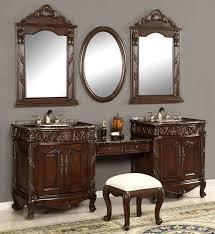 double bathroom vanity with makeup area. unique double vanity sink   87-inch vanities make-up stool bathroom with makeup area a