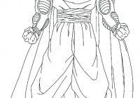 Dragon Ball Z Ultra Instinct Coloring Pages With Imprimer Des Pages