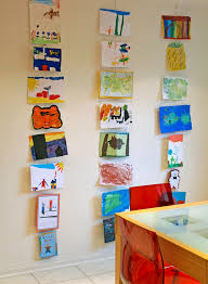 Classroom organization  Use hanging wires ...