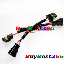 aliexpress com buy 2x 9006 hb4 car auto led halogen hid xenon aliexpress com buy 2x 9006 hb4 car auto led halogen hid xenon light bulb wiring harness socket wire connector plug adapter from reliable connector bar