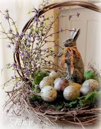 Pin by Margery Caldwell on FLORAL ARANGEMENTS** | Spring easter decor,  Easter tablescapes, Easter spring