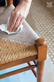 rush chair seat cushions. wiping-off-stain-on-dining-room-rush-seat- rush chair seat cushions u