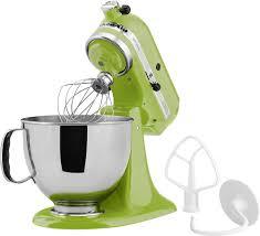 Lime Green Kitchen Appliances Kitchenaid Artisan Series Tilt Head Stand Mixer Green Ksm150psga