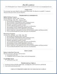 Resume Samples Online Online Resume Examples On Example Of Resume