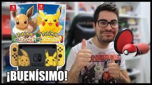🔥 Pokémon Let's GO 😍 2 Jugadores Gameplay con @Ray Bacon - YouTube