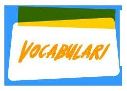 Resultado de imagen de vocabulari