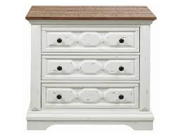 Image Guthrie Celeste Rustic Twotone Nightstand By Coaster Dunk Bright Furniture Coaster Celeste 206462 Rustic Twotone Nightstand Dunk Bright