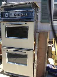 11 vintage stoves 2 wall ovens