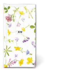Taschentücher Scattered Flowers