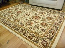 image of a fine heat set polypropylene persian floor rug