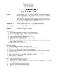Gymnastic Coaching Resume Sales Coach Lewesmr