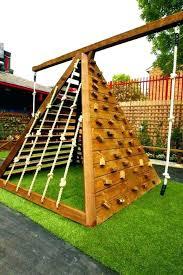 kids outdoor climbing wall outdoor climbing wall ad backyard projects kid 4 outside climbing wall home