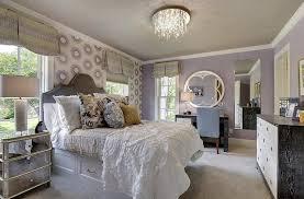 ... Stylish bedroom has a distinct feminine vibe [Design: Great  Neighborhood Homes]