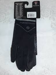 Heritage Ultralite Equestrian Riding Gloves Size 8 Womens Black