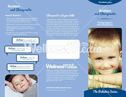 baby pamphlets autism and chiropractic brochure autism and brochures