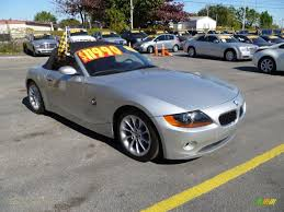 Coupe Series 2004 bmw roadster : 2004 BMW Z4 2.5i Roadster in Titanium Silver Metallic - R68429 ...