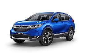 Honda CRV Berwarna Biru