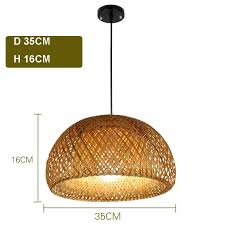 whole country and nordic style nature bamboo half globe chandelier light dining kitchen bar indoor gold hanging lamp kitchen island lighting ceiling