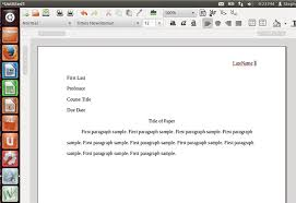 Mla Format Using Abiword Mla Format