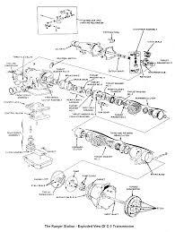 Printable 1998 ford ranger transmission diagram large size