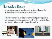 personal narrative essay assignment a list of essay topics personal narrative essay assignment