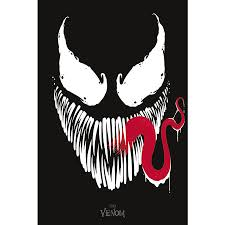 Marvel Comics Poster Venom Face - Posters buy now in the shop Close Up GmbH
