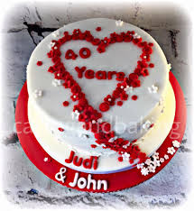 Wedding Anniversary Cake 13907144 504350513095172