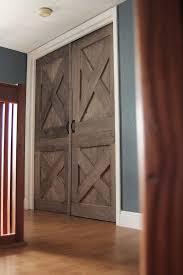 again wooden barn door unique handmade interior rustic doors for closet designs 9
