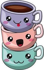 #ghibli #coffee #cute coffee #coffee aesthetic #aesthetic coffee. Drawing Skill Kawaii Drawings Coffee
