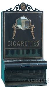 Rowe Cigarette Vending Machine Interesting Rowe Countertop CoinOp Cigarette Vending Machine Art