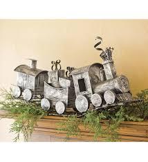 Holiday Metal Train Home Dcor