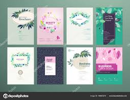 Flyer Design Ideas 2018 Product Catalogue Layout Ideas Set Natural Product
