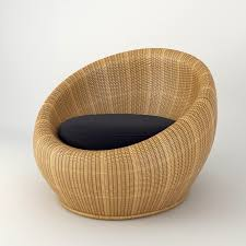 smartness round rattan chair chairs wicker and ottoman white furniture
