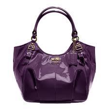 usa lyst coach madison patent abigail shoulder bag in purple 09994 f2a4e