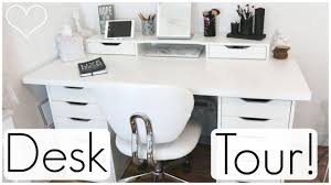 ikea office drawers. Desk Tour Ft. Ikea Alex Drawers! Allisa Rose Office Drawers