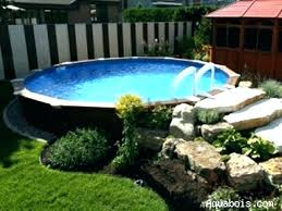 backyard pool designs for small yards. Modren Backyard Pool Ideas On A Budget In Ground Above For Small  Yards Throughout Backyard Pool Designs For Small Yards