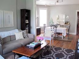 Living Room And Dining Room Combo Decorating Living Dining Room Combo Decorating Ideas Photo 2 Rustic Small