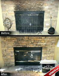 fireplace brick cleaner best way to clean soot off fireplace bricks brick smoke stains stone cleaned