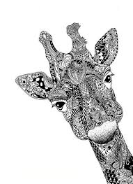 Black And White Giraffe Tattoo Giraffe Tattoo Tumblr Doodling