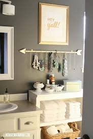 Contemporary Bathroom Decorating Ideas Diy Decor For Teens Jewelry Holder Best Intended Concept
