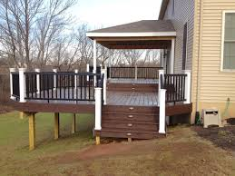 marcus deck u patio low deck with covered area u marcus deck u with covered decks images