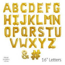 eed104ca01dfb7c4380beac1d letter balloons gold balloons
