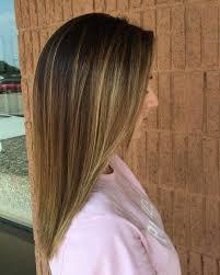 sun kissed blonde highlights dark brown hair with blonde highlights