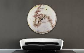 glass wall art abstract clocks