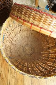 snake charmer basket with attached lid 1