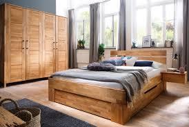 Schlafzimmer Massivholz Zent Wildeiche Geölt Sc24