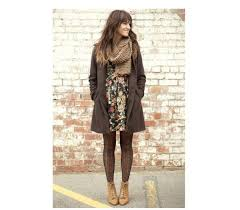 coat knitted scarf brown leather boots shoes dress trench coat fl fl dress ombre hair wedges tights wool scarf scarf fall outfits