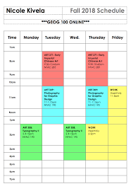 Online Course Schedule Planner Syllabus Week How To Start Off On The Right Foot