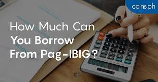 Teachers Fund Loan Chart Pag Ibig Housing Loan How Much Can You Borrow Coins Ph